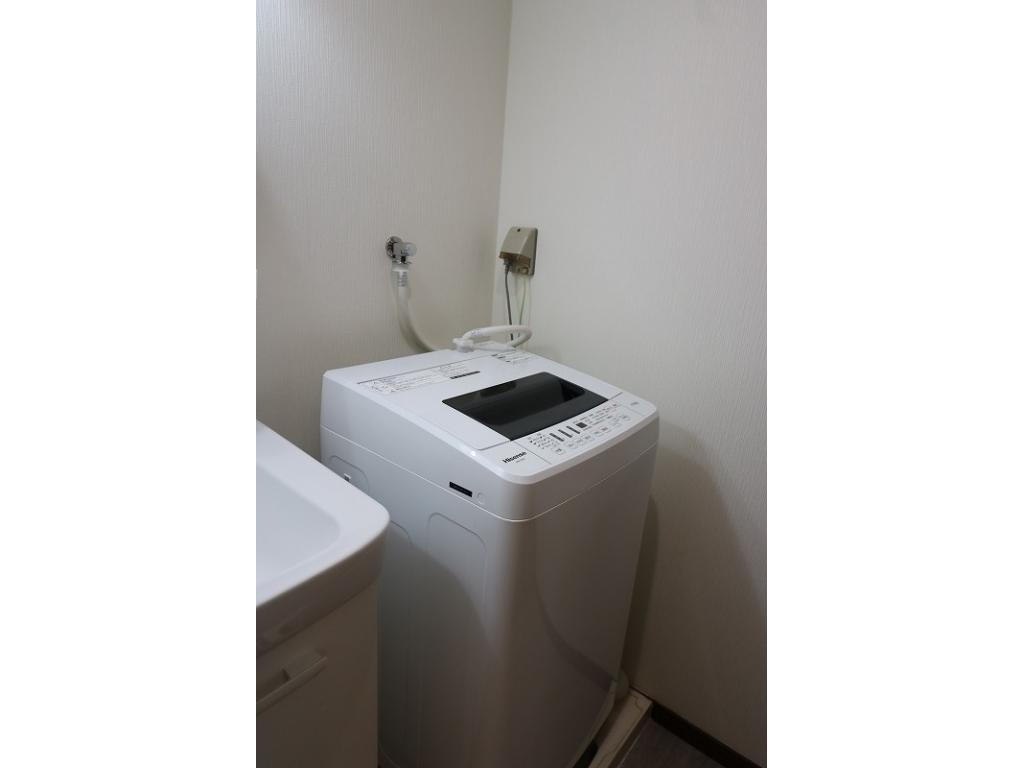 洗面化粧台&室内洗濯機置場